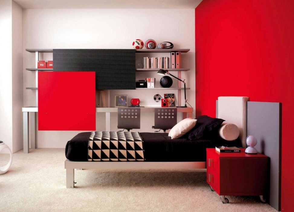 Adorable teenage bedroom decorating ideas for boys for Where can i get wallpaper for my room