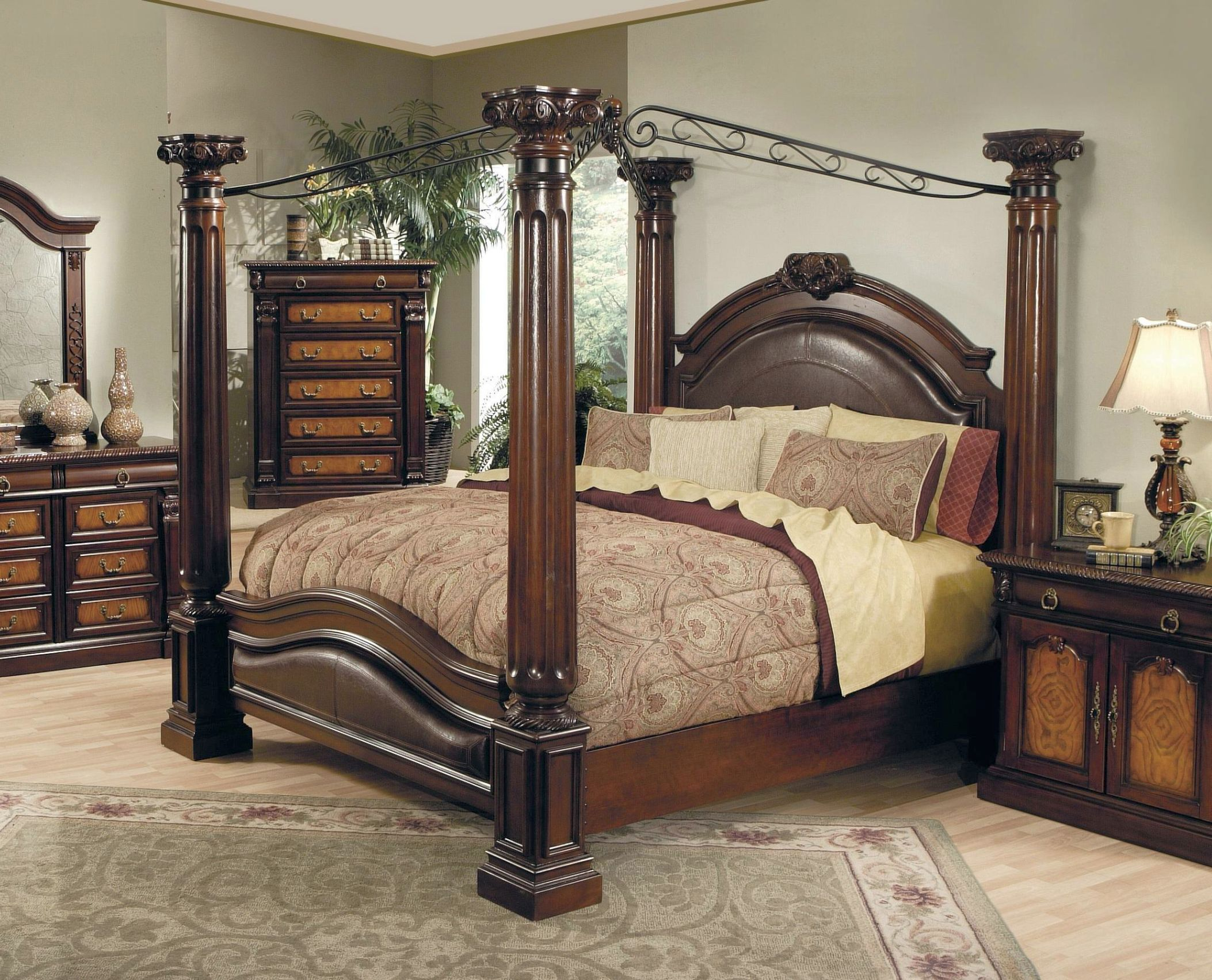 Exotic Canopy Beds Interior Design Home Decor Furniture Furnishings Bedroom