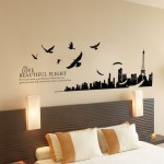 City silhouette DIY Indoor Wall Painter