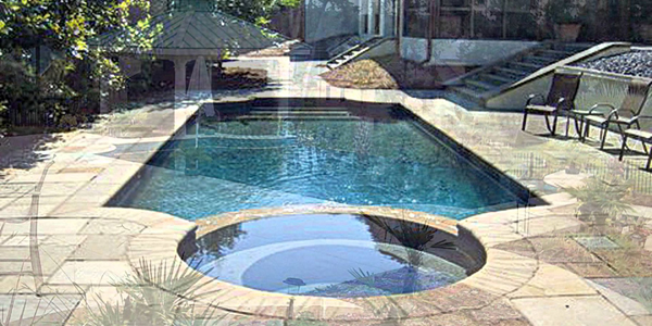 Grecian pool design