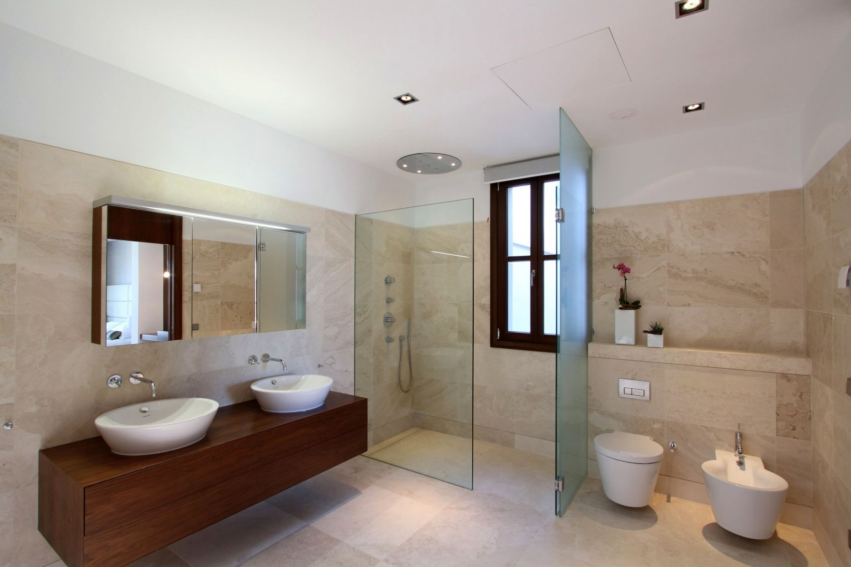 Modern Bathroom Interior Design Set Modern Bathroom Interior Design