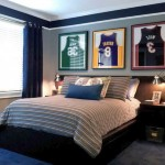 Cool Decorating Ideas for Teen Boys Using MVP Basketball Stars Posters