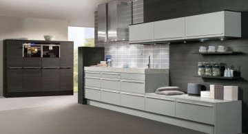 Gray is one of the best colors for kitchen cabinets