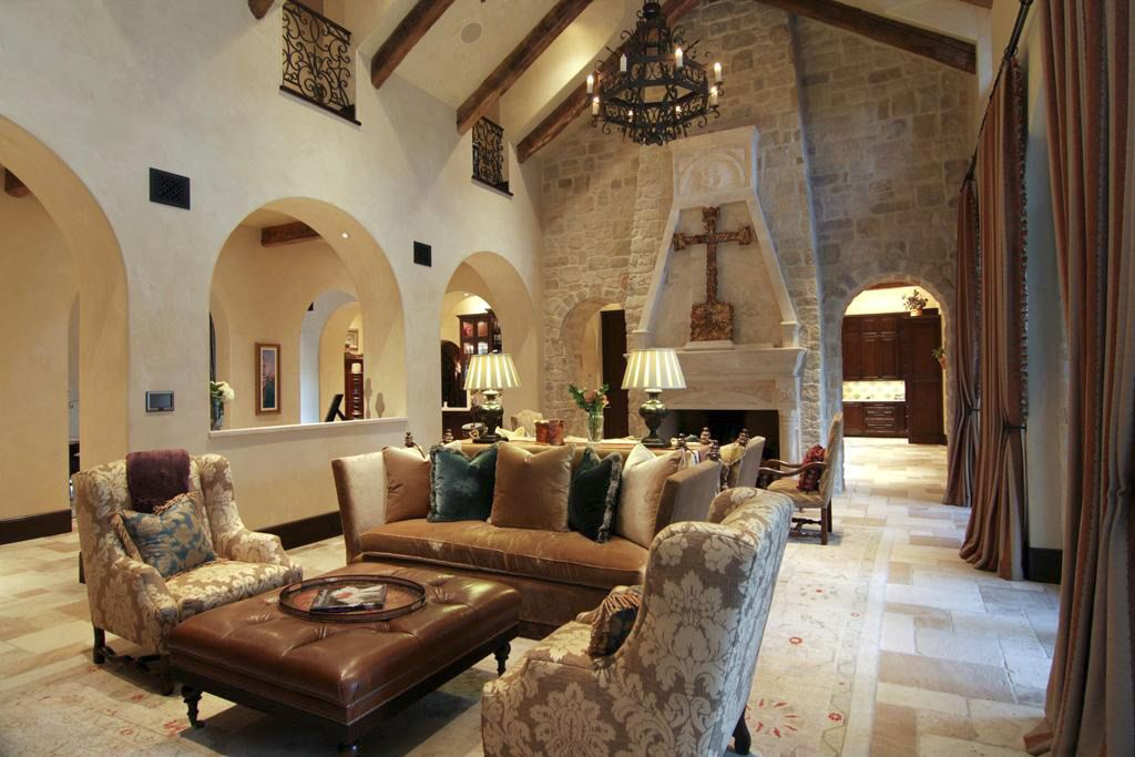 19 stunning mediterranean house decoration ideas for Mediterranean house interior design