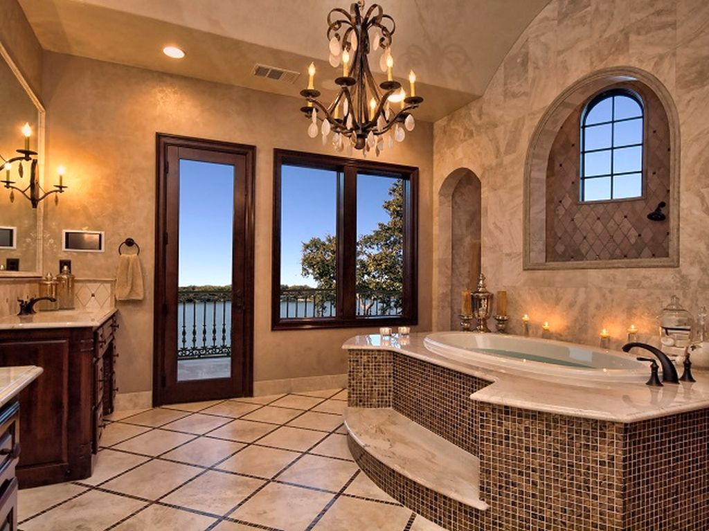 mediterranean home decor for your bathroom