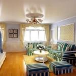 Mediterranean Home Decor with blue color palette