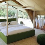 Minimalist and unique canopy bed designs