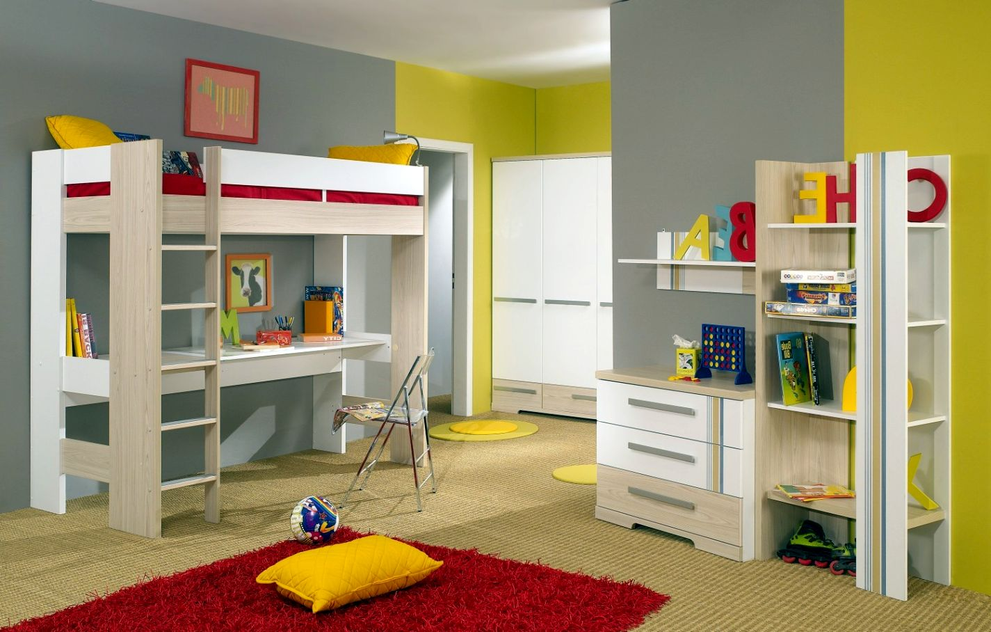 14 Adorable Modern Loft Beds Design Ideas For Your Kids