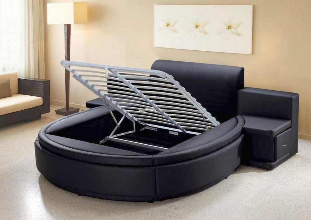 Modern Round Bed Design by Aiden