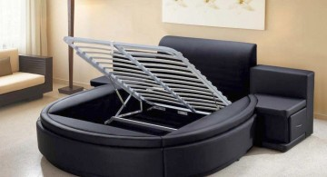 Modern Round Bed Design by Aiden