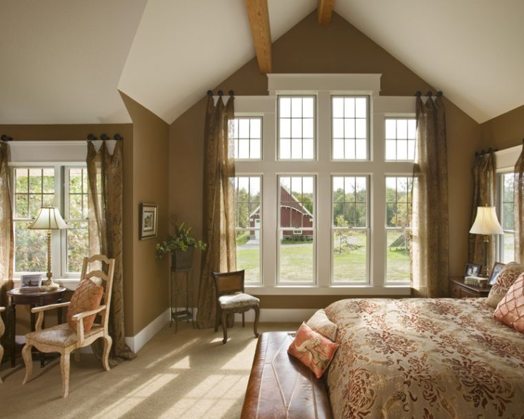 16 Most Fabulous Vaulted Ceiling Decorating Ideas – Vaulted Ceiling Bedroom Ideas