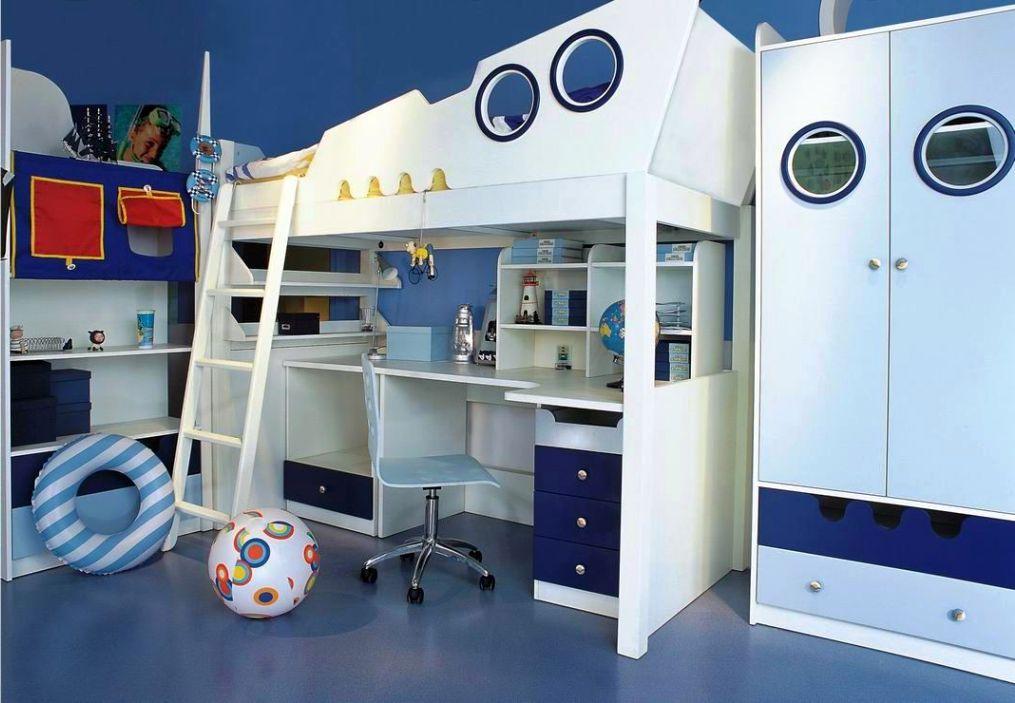 Boy Bedroom Decorating Ideas And Furniture Design
