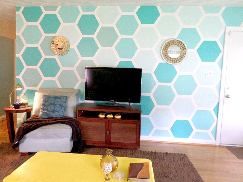 Ombre colored DIY Indoor Wall Painter