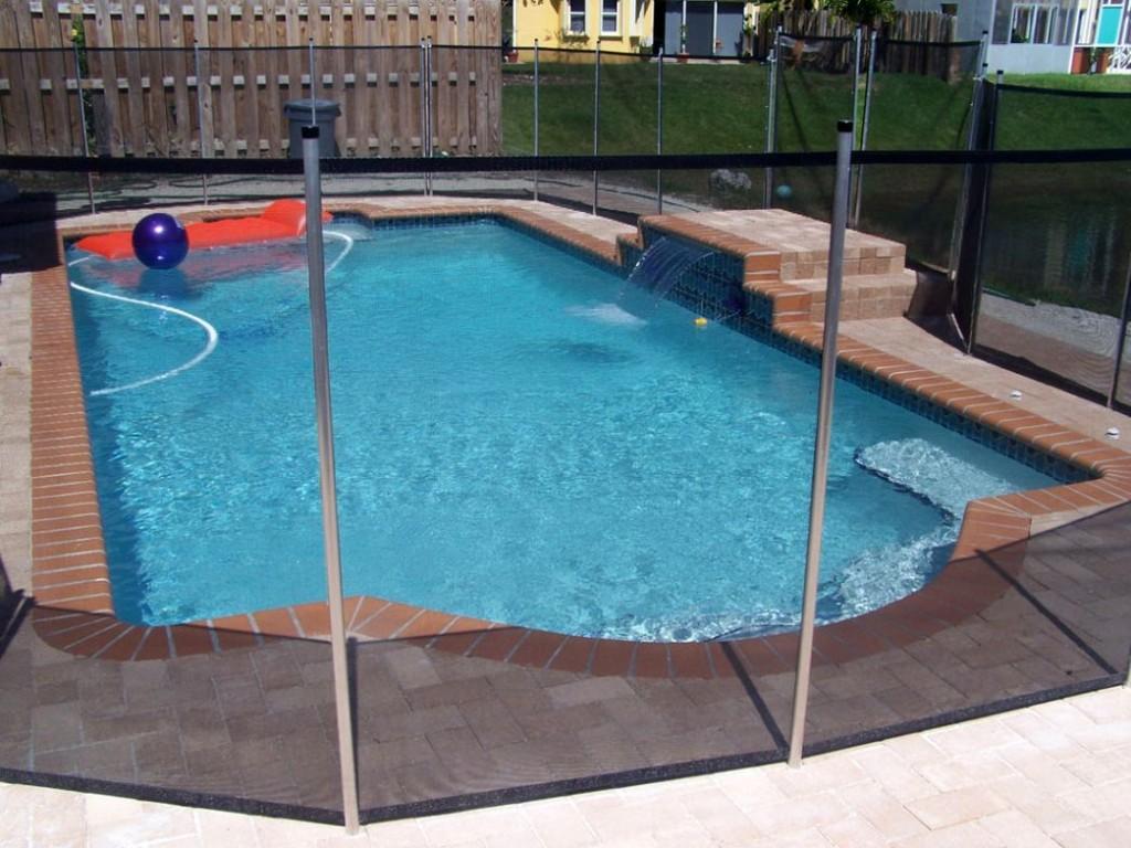Roman grecian pool shape