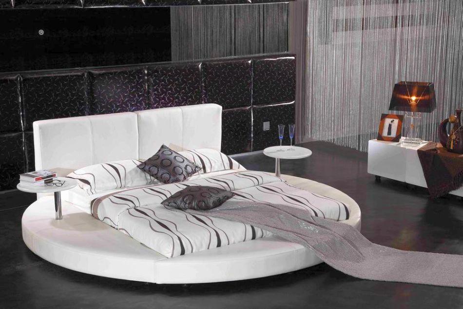 13 unique round bed design ideas