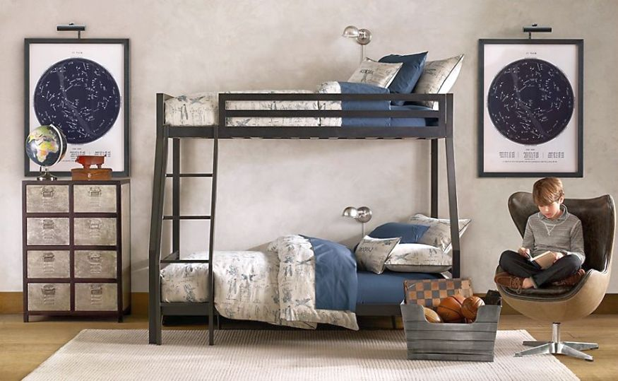 12 superb room decor ideas for teenage boys for Room interior design for boys