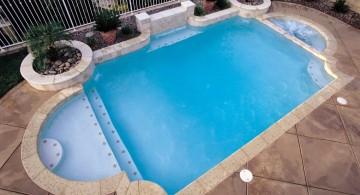 Three tier grecian swimming pool fountain