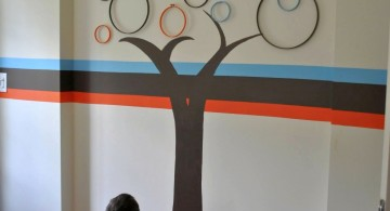 Tree art DIY Indoor Wall Painter