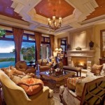 Warm colors Mediterranean Home Decor for a lounge