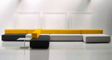 contemporary modular sofa furniture