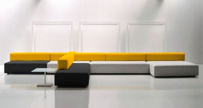 contemporary modular sofa furniture