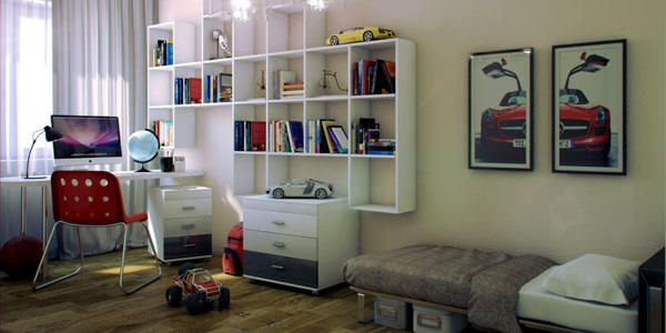 Featured teenage boy bedroom design ideas for small and - Limited space bedroom ideas ...