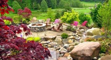 gardening with rocks ideas
