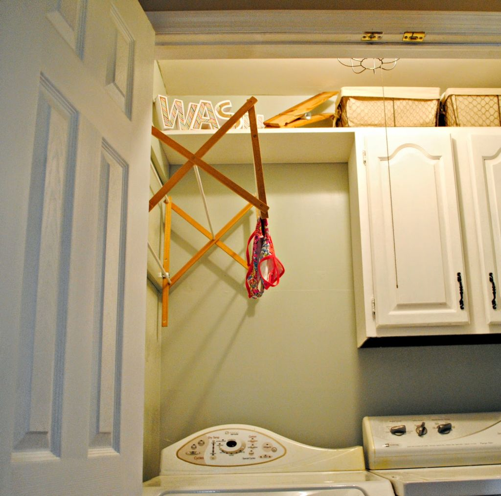 Hanging Laundry Room Clothes Hanger Racks Designs For