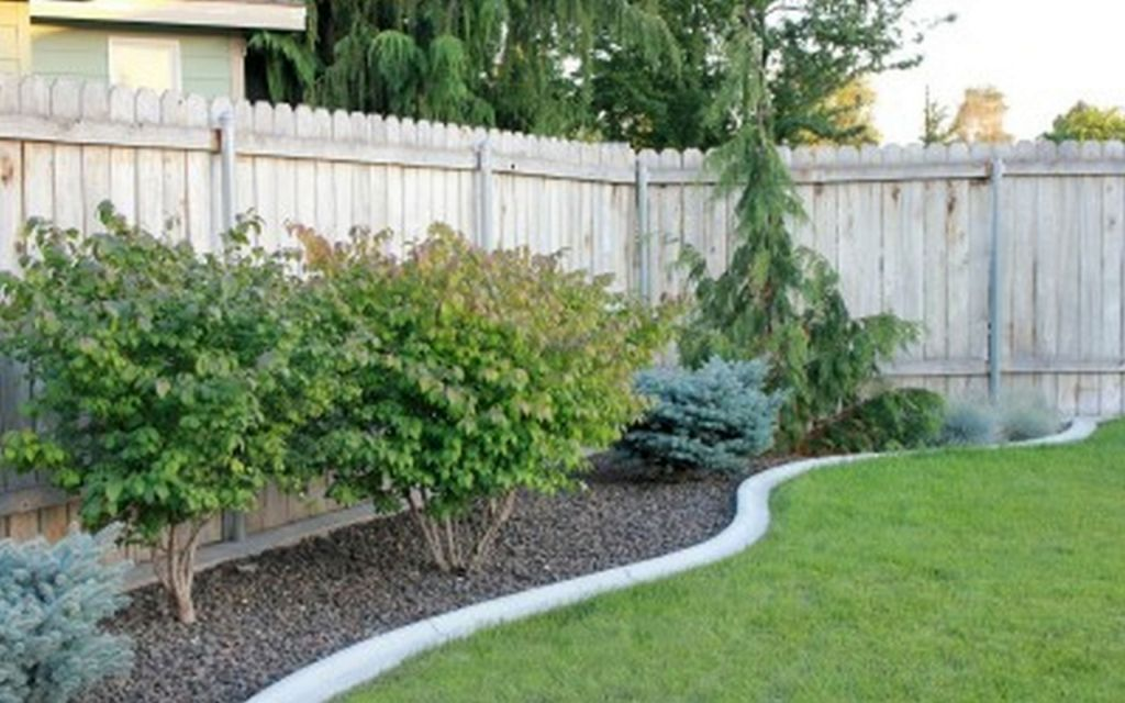 Backyard Landscaping Ideas With Stones dry creek bed Gallery For Gardening With Rocks Design Ideas
