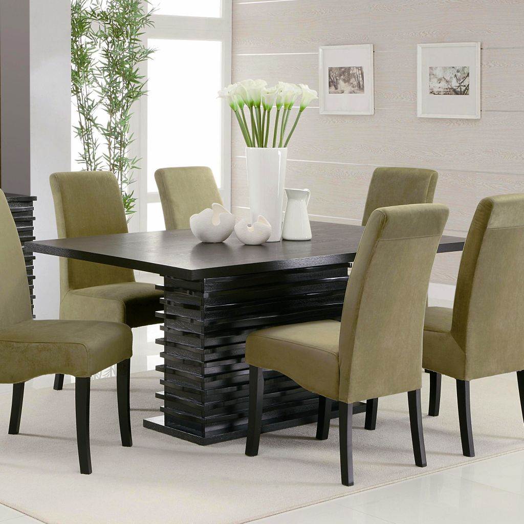 Modern dining table designs with glass top - Gallery For Modern Dining Table Chairs Designs