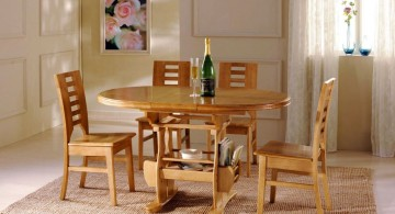 short legged dining table chairs designs for round table