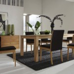 simple black dining table chairs designs