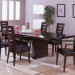 tall back dining table chairs designs