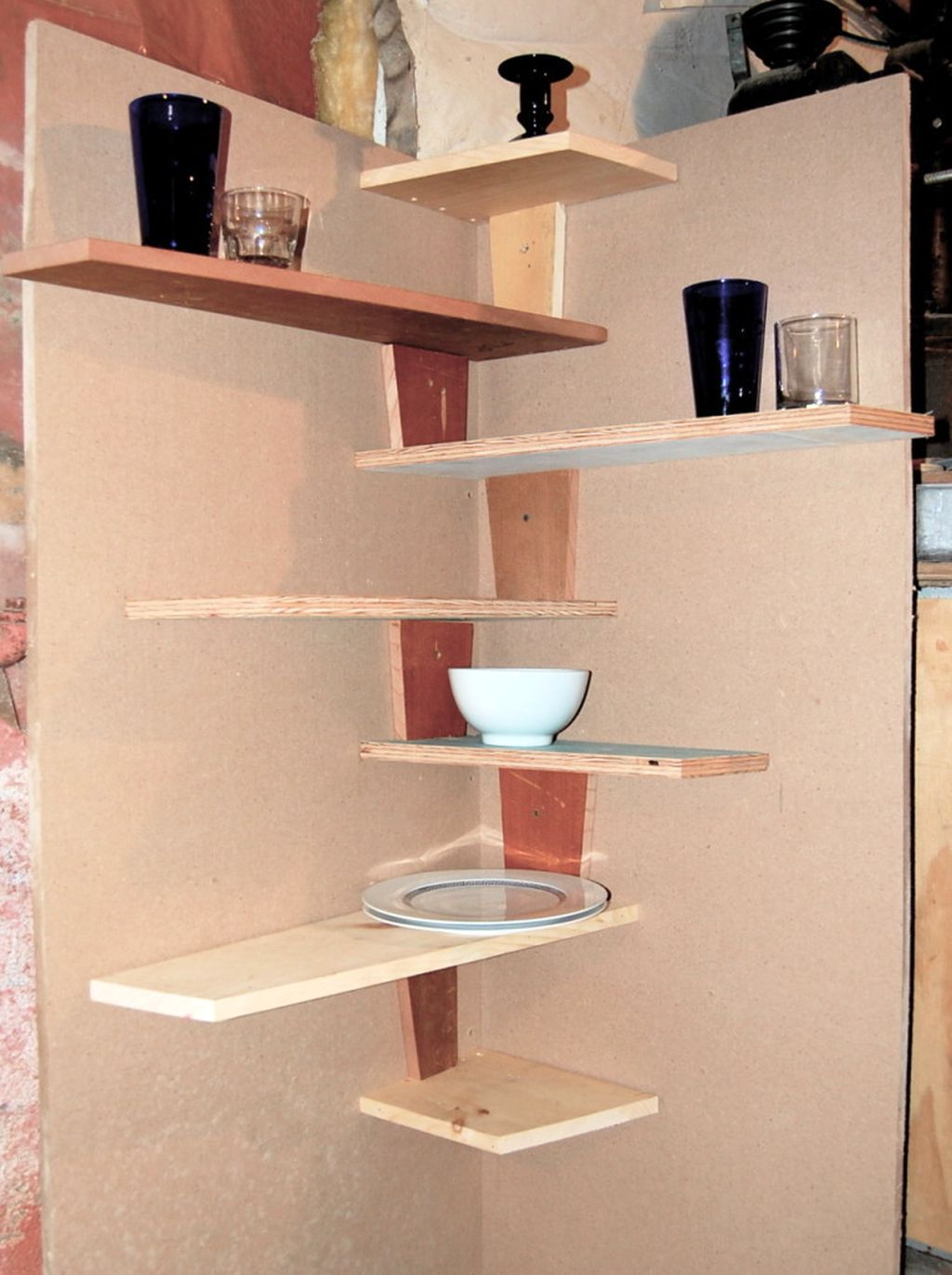 20 Great Inspirations Of Small Corner Shelving Unit