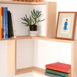 widen small corner shelving unit