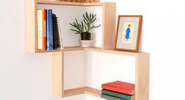 widen small corner shelving unit