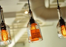 Awesome DIY wine bottle pendant lighting ideas to decorate exterior