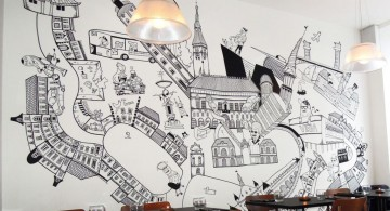 Awesome grafiti for Cool wall painting designs