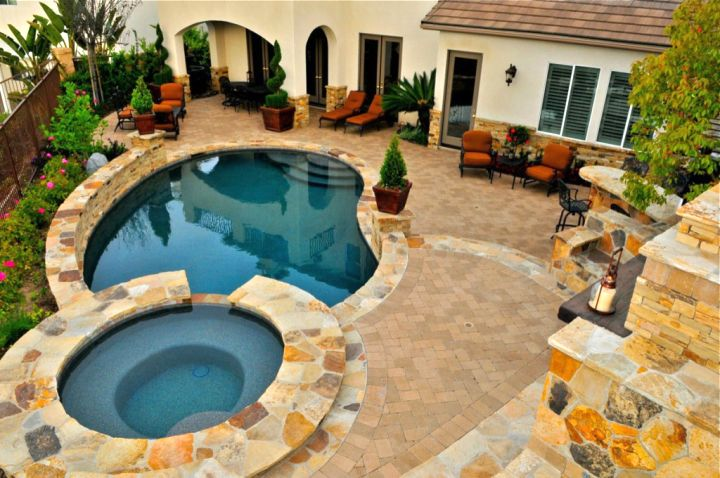 gallery for small backyard swimming pool design ideas - Backyard Swimming Pool Designs