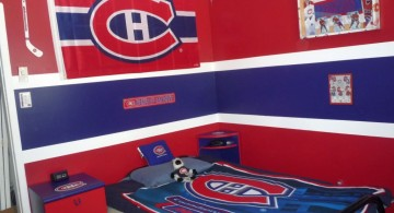 Canada fan hockey bedrooms