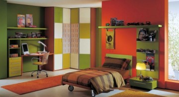 Colorful boys room paint ideas