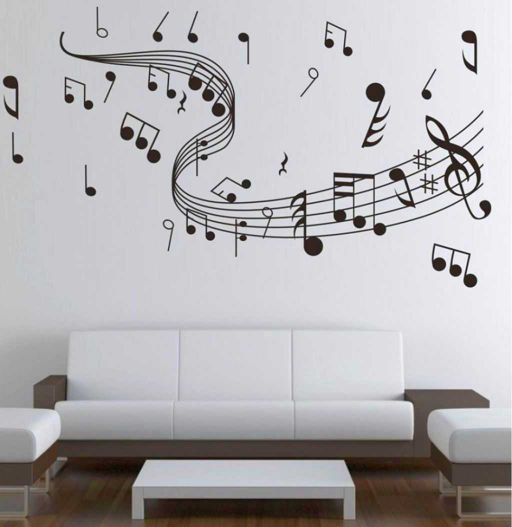 Cool Wall Painting Designs Musical Note On Ideas For Painting Dining