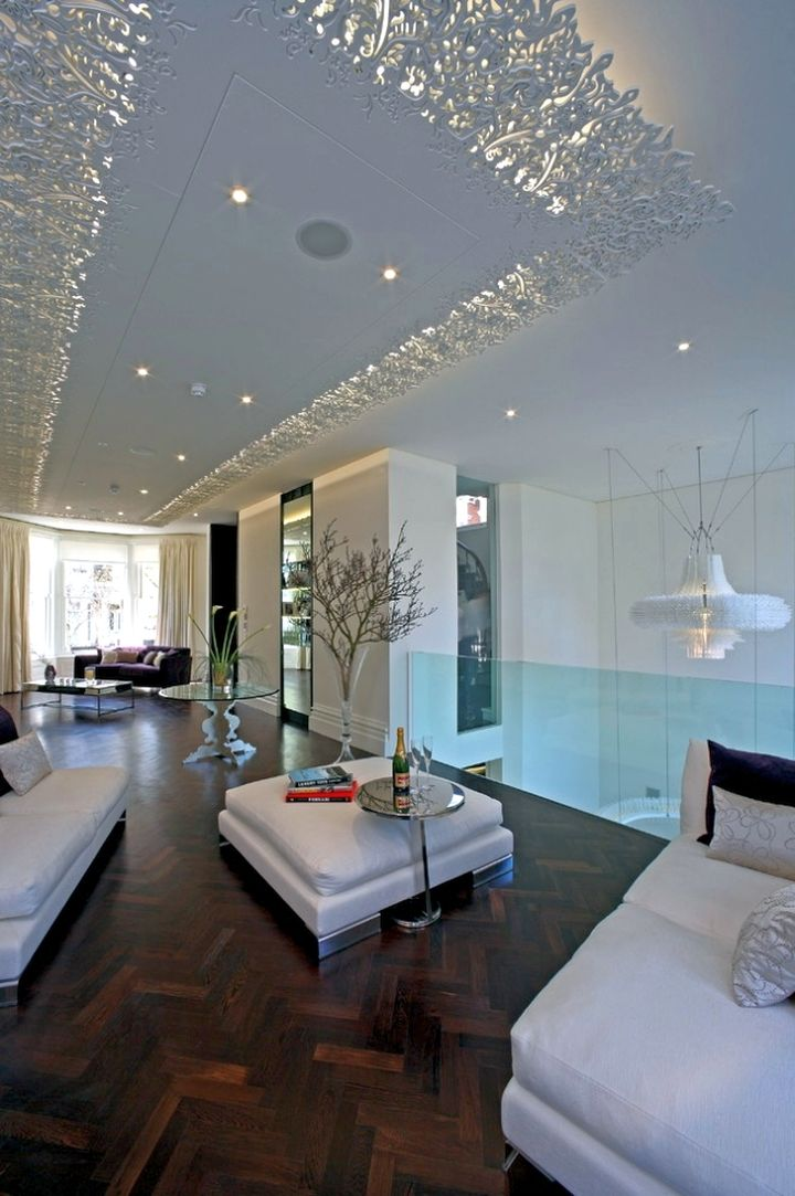 18 beautiful different ceiling ideas that fit any interiors for Different interior designs
