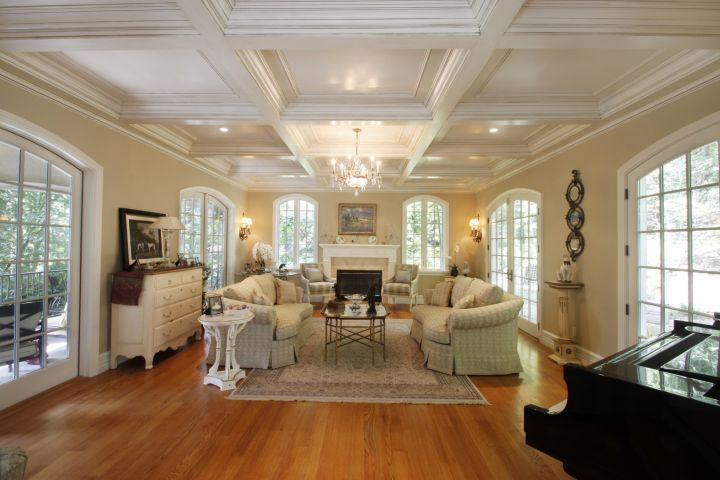 Different Ceiling Designs with coffer