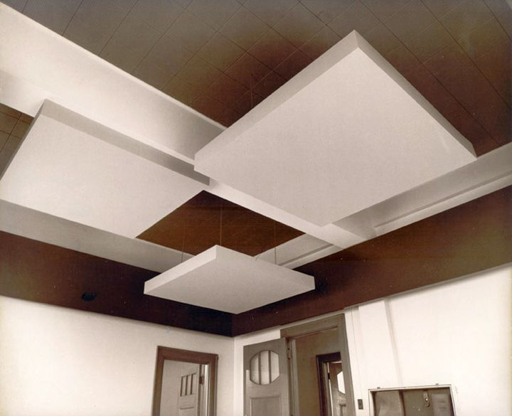 Different Ceiling Designs with floating texture