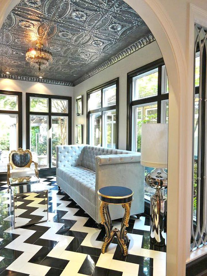 Glamorous and classy Different Ceiling Designs 15