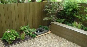 Japanese garden backyard design for small backyard