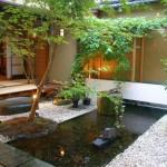Japanese garden backyard design that also work for indoor garden