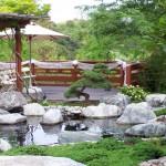 Japanese garden backyard design that perfect for wedding
