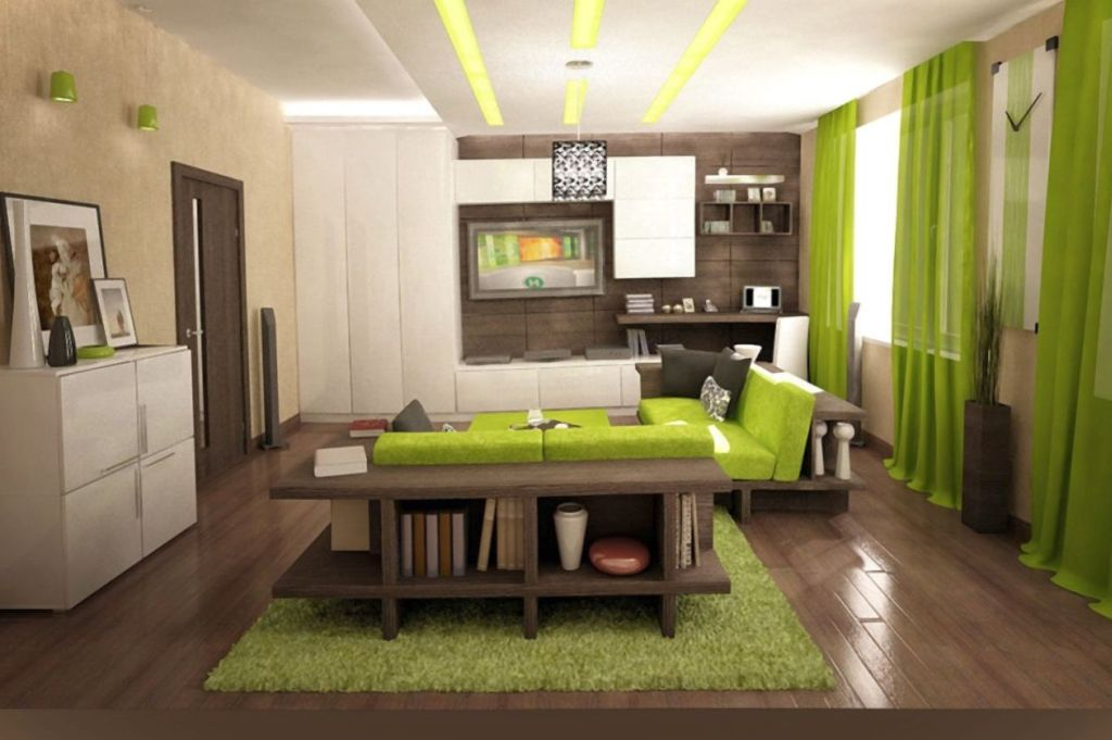 19 Delightful Lime Green Accent Walls To Rejoice Your Home